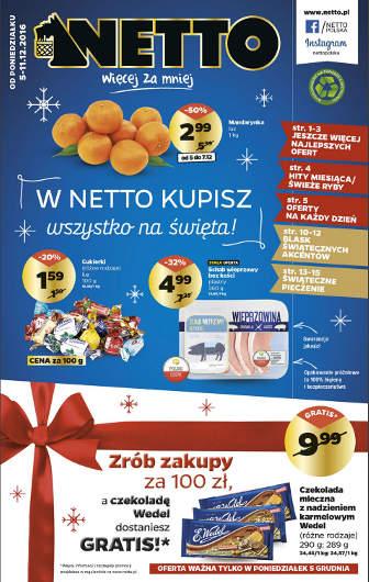 Netto - najnowsza gazetka promocyjna