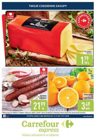 Gazetka Carrefour Express