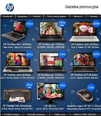 HP Gazetka promocyjna