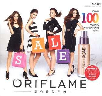 Oriflame katalog promocyjny nr 1 2015