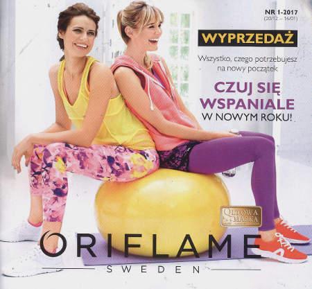 Oriflame katalog promocyjny nr 1 2017