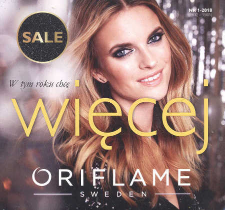 Oriflame katalog promocyjny nr 1 2018