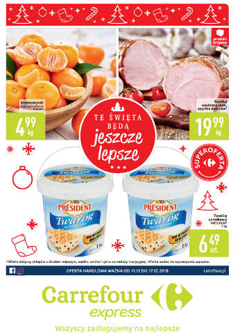 Gazetka Carrefour Express