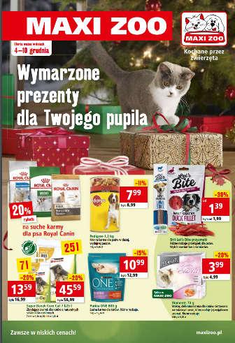 Maxi Zoo gazetka