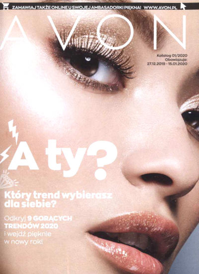 Avon Katalog promocyjny Nr 1 2020