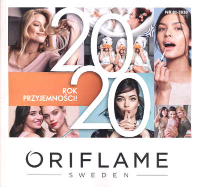Oriflame katalog promocyjny nr 1 2020